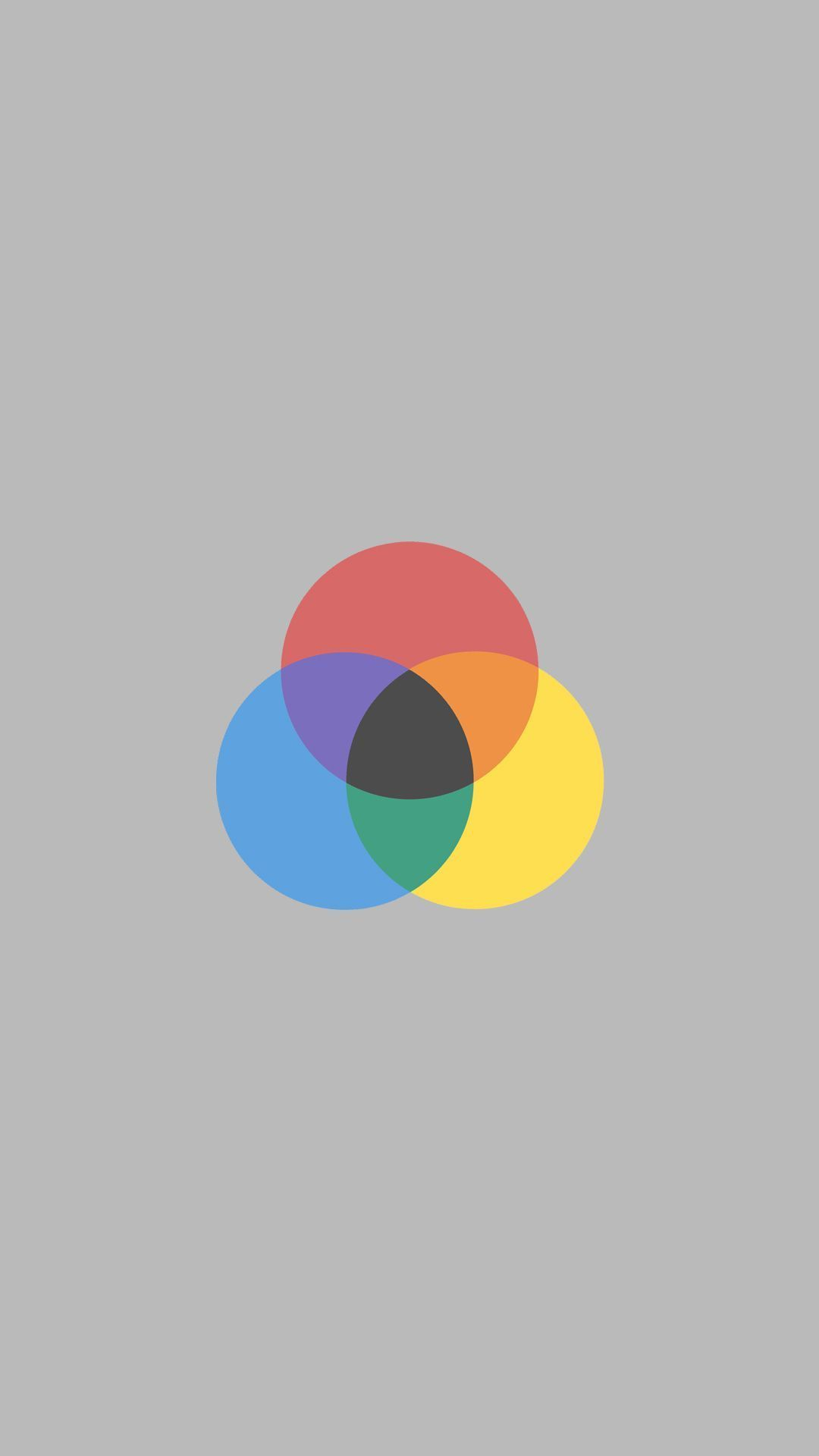 Minimal Color Circles Simple Wallpapers Color Circle Pastel Wallpaper