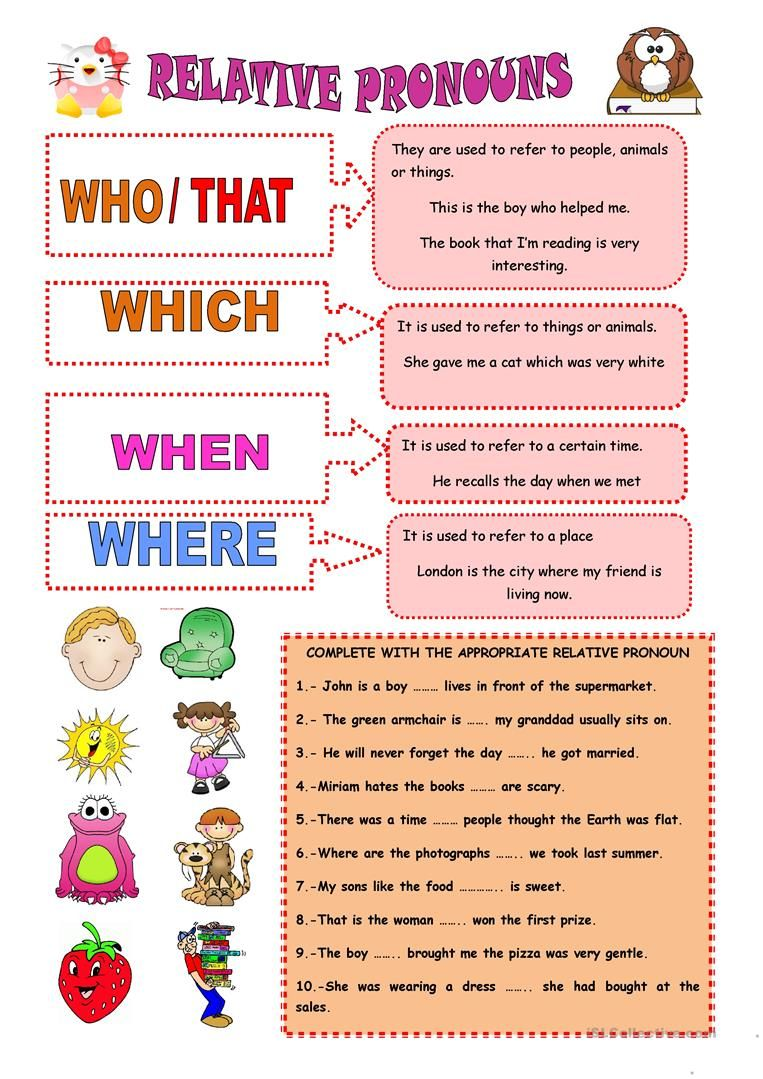 small resolution of RELATIVE PRONOUNS worksheet - Free ESL printable worksheets made by  teachers   Relative pronouns