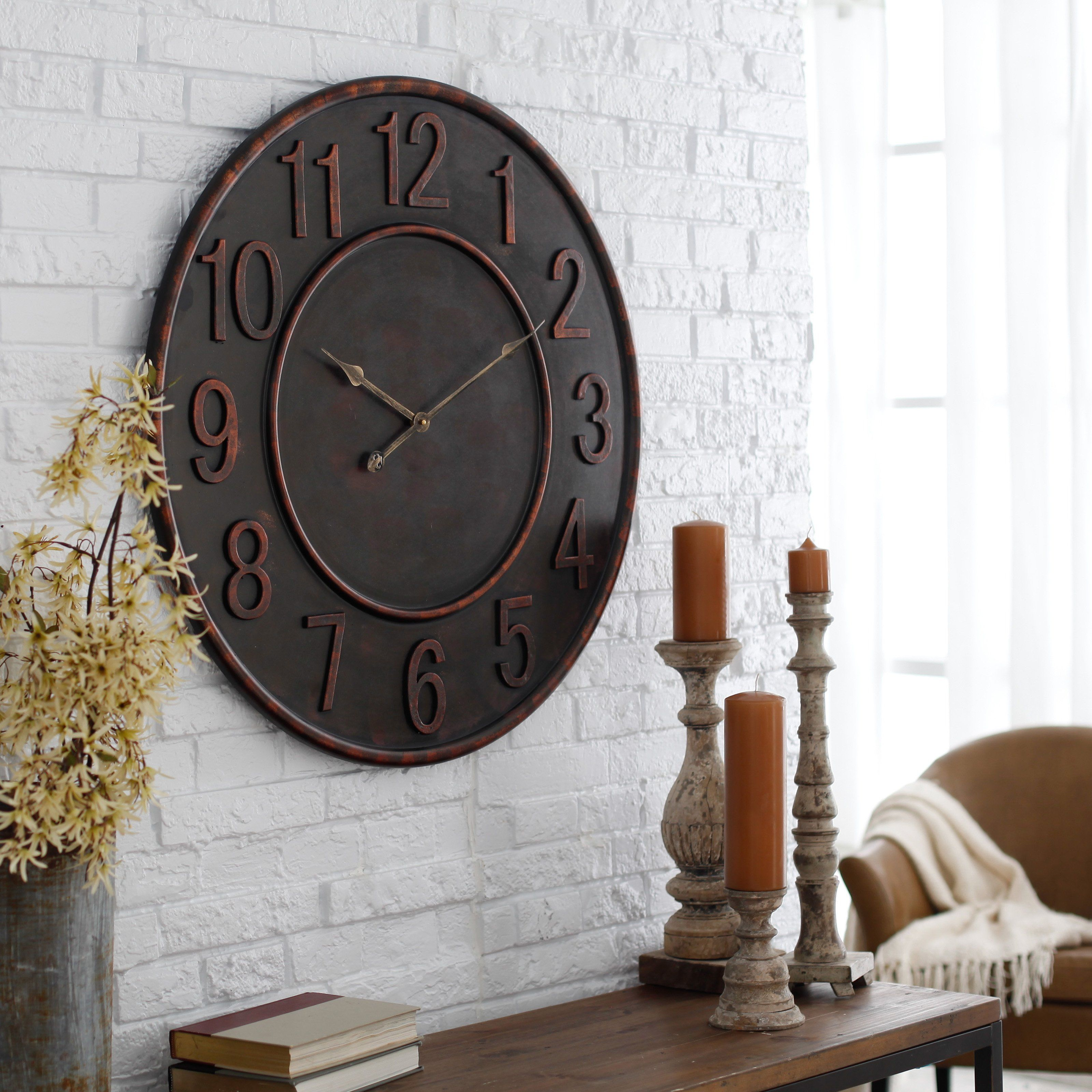 Have To Have It Cooper Classics Kirk 31 5 In Wall Clock 162 00 Wall Clock Clock Clock Decor