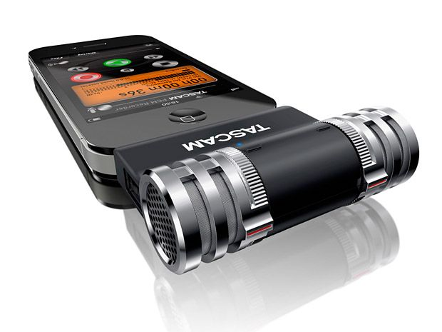 Tascam Im2 Stereo Mic Tascam Makes Professional Audio Gear Their New Im2 Plugs Into Your Iphone Ipad Or Ipod Analog To Digital Converter Microphones Stereo