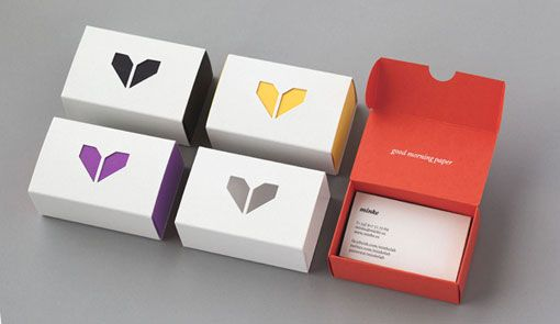 Minke brand identity and collateral business card boxes minke brand identity and collateral business card boxes colourmoves Image collections