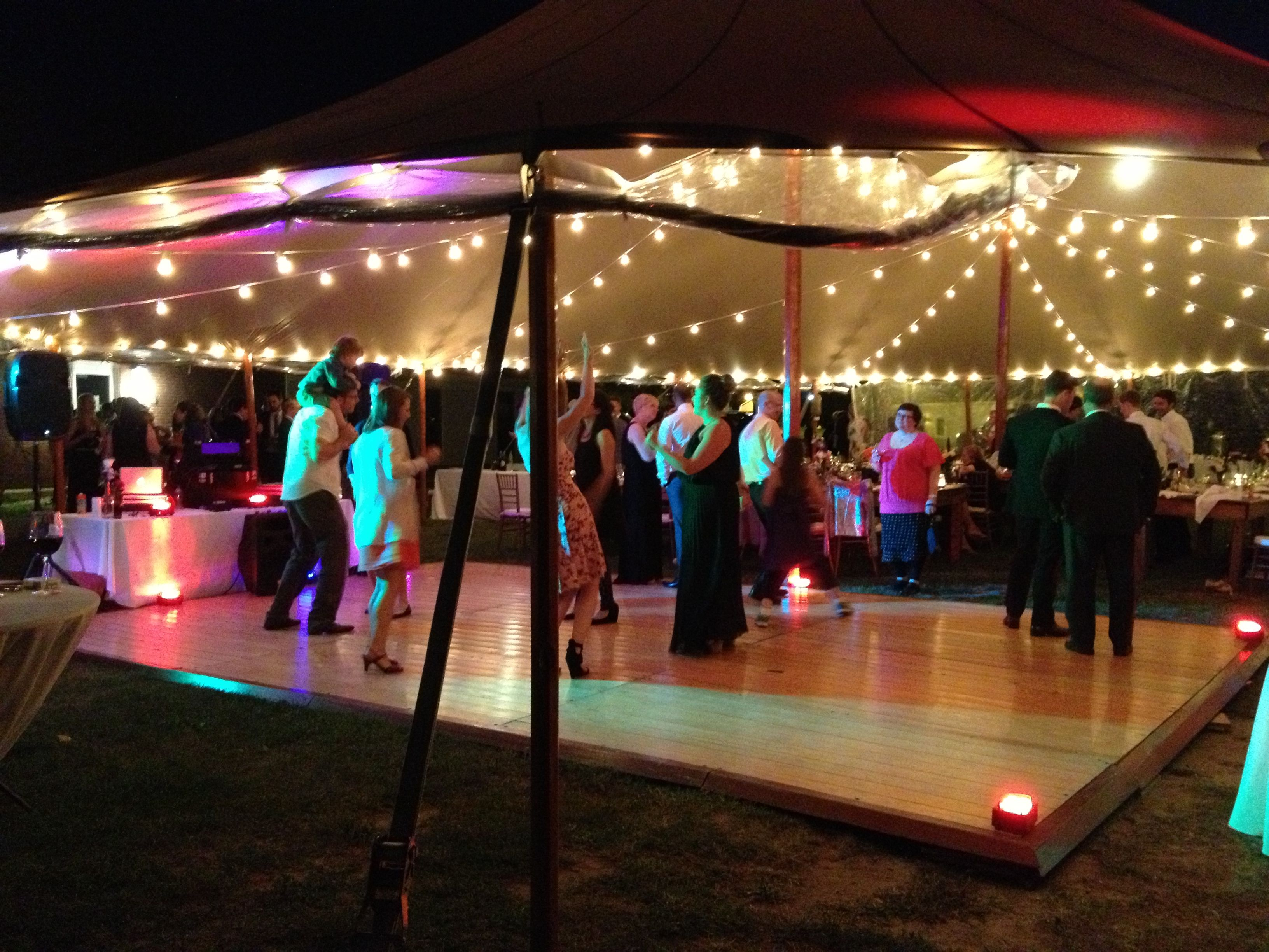 Southern Maine Community College Wedding On 08 24 13 With Sperry Tents SMCC