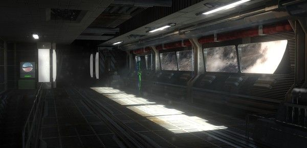 future space station inside - photo #11