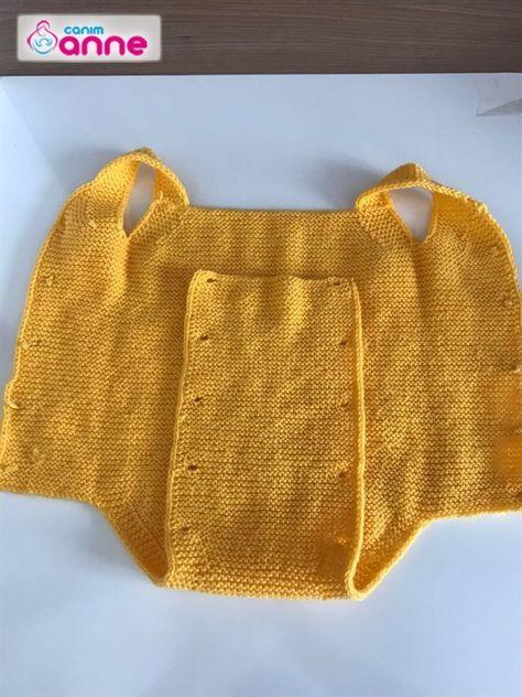 6 aylık bebek tulum zıbın yapımı