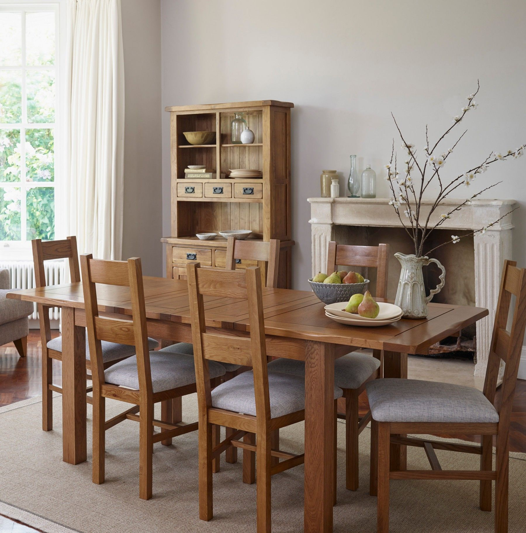 The Rushmere Rustic Solid Oak Extending Dining Set Is Perfect For Everyday  Family Meals To Extravagant Nice Ideas
