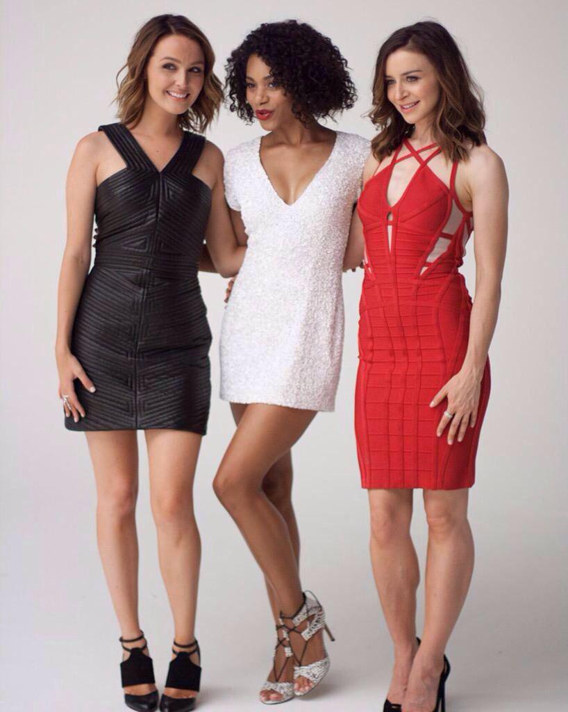 Caterina Scorsone / Camilla Luddington / Kelly McCreary | Caterina ...