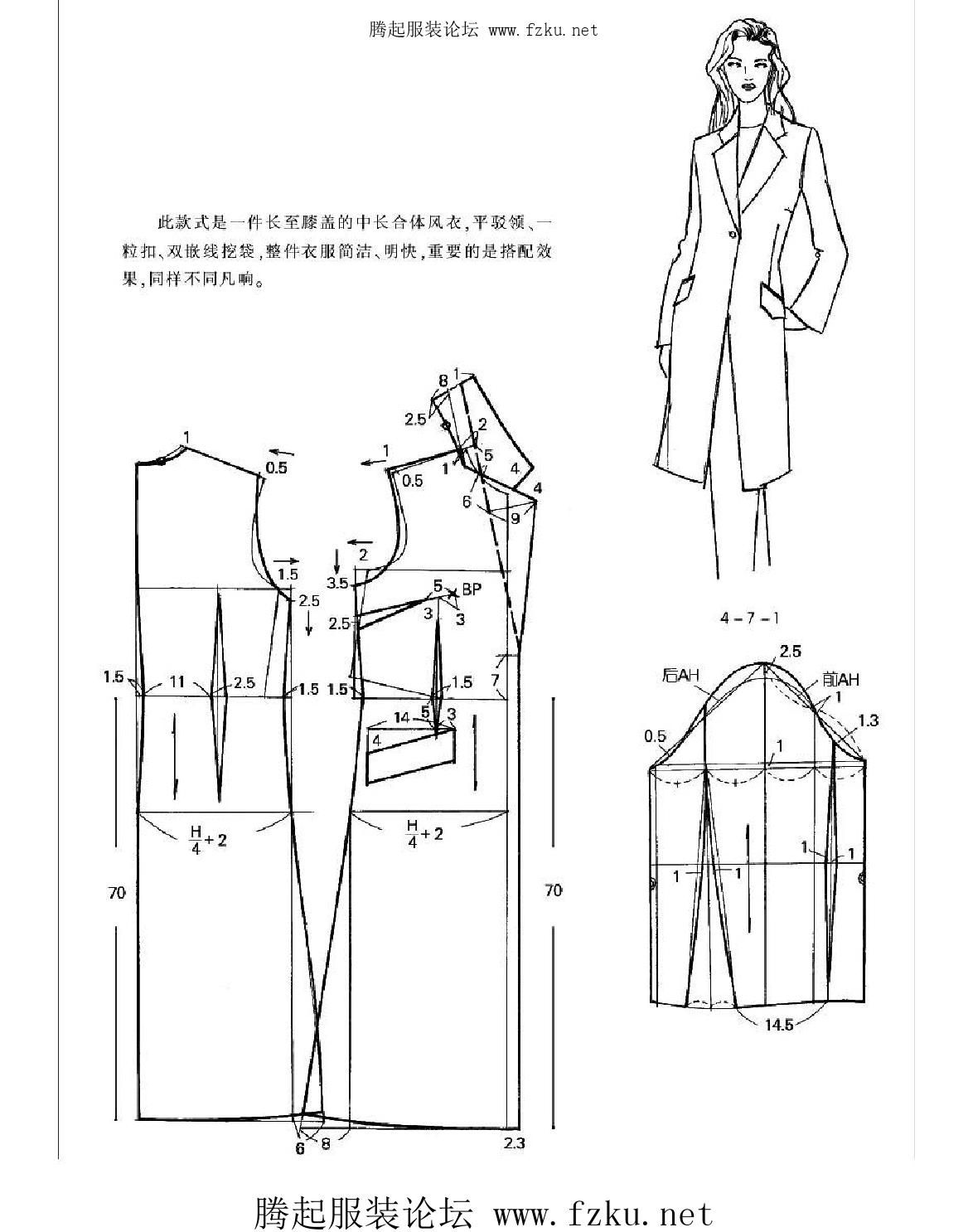 服装裁剪实用手册(上装篇) (1) | Patrones, Costura y Molde