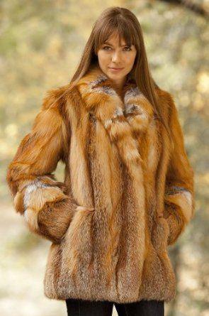 Women's Ophelia Cherry Red Fox Fur Coat $3,995.00 | Jackets ...