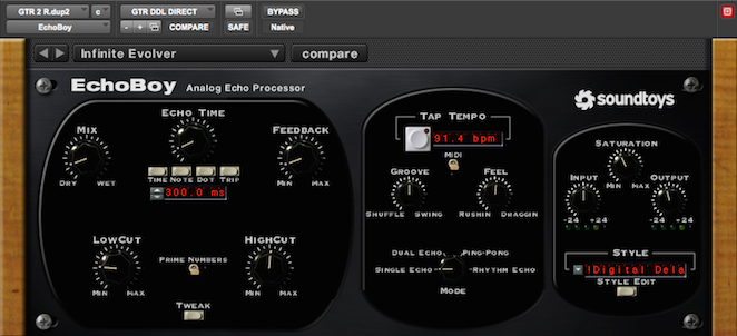 Using Delay To Help Lead Guitars Cut Through the Mix