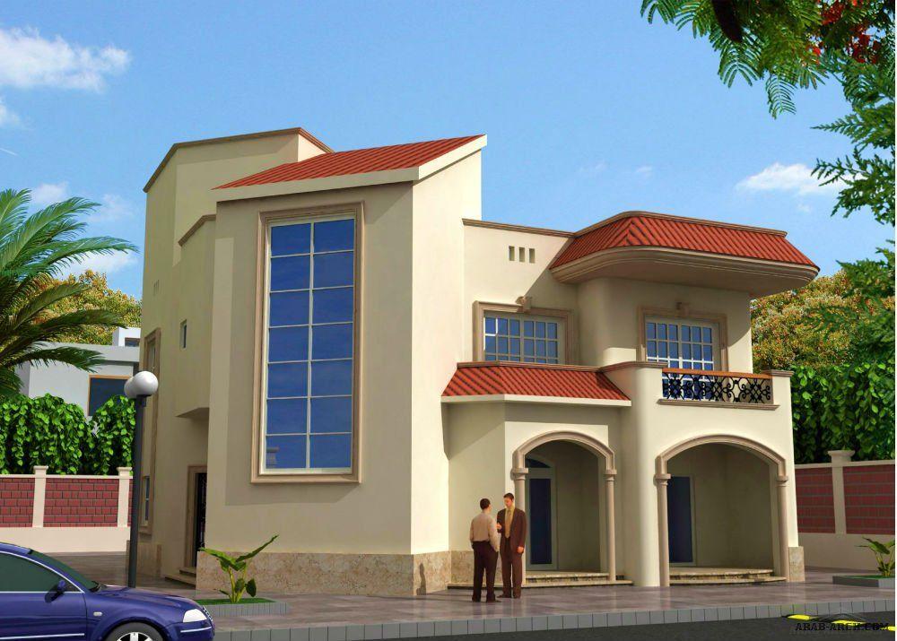 تصاميم رائعه فيلا الشروق مساحه الدور الارضى 158 متر مربع والدور الاول 150 متر مربع Dream House Plans Dream House House Styles