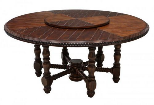 60 Inch Round Dining Table With Leaf Round Wood Dining Table 60