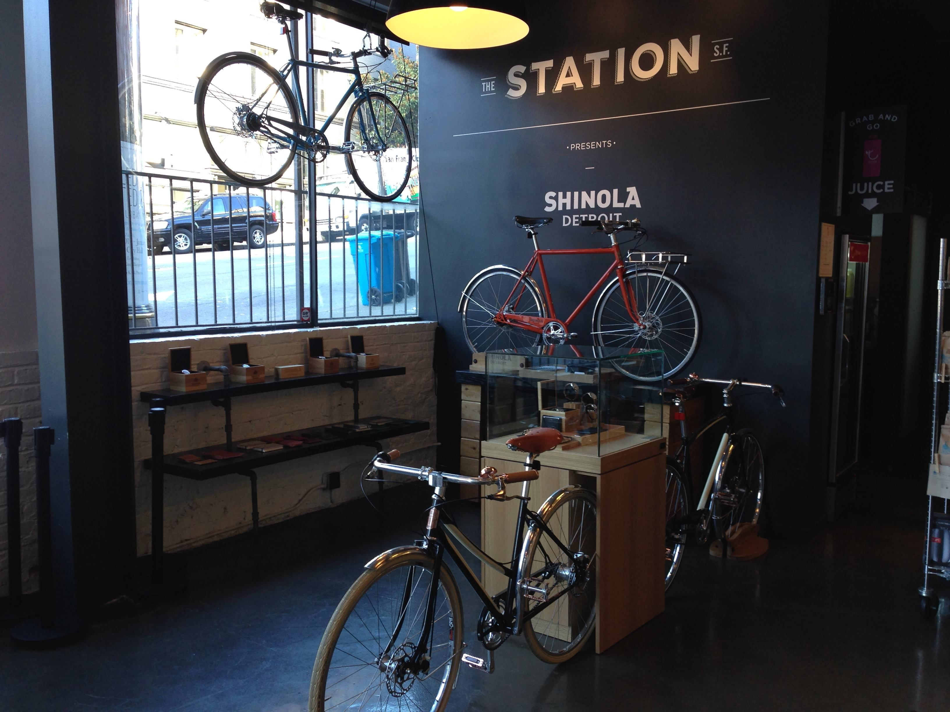 Shinola opens popup store in San Francisco coffee shop | San