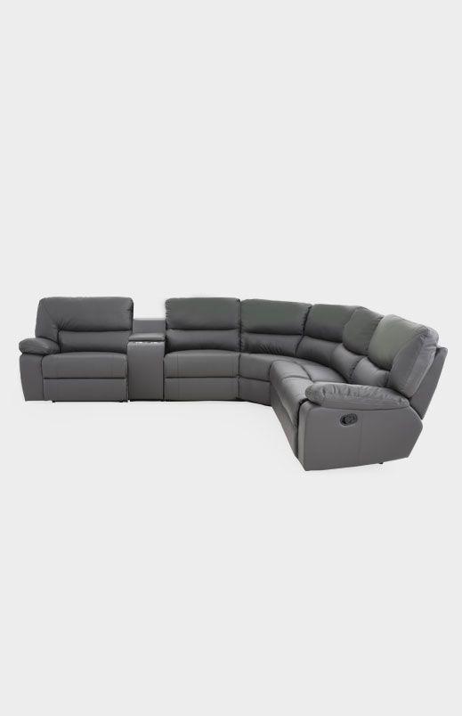 Image Pour Divan Sectionnel Gris Inclinable A Partir De Brault Martineau Sectional Couch Couch Home Decor
