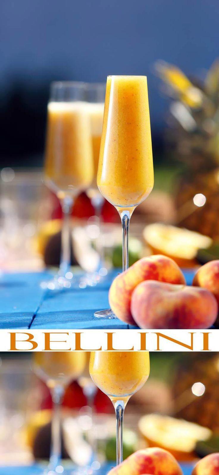 Simple Cocktail Recipes. Bellini Cocktail Recipe. This