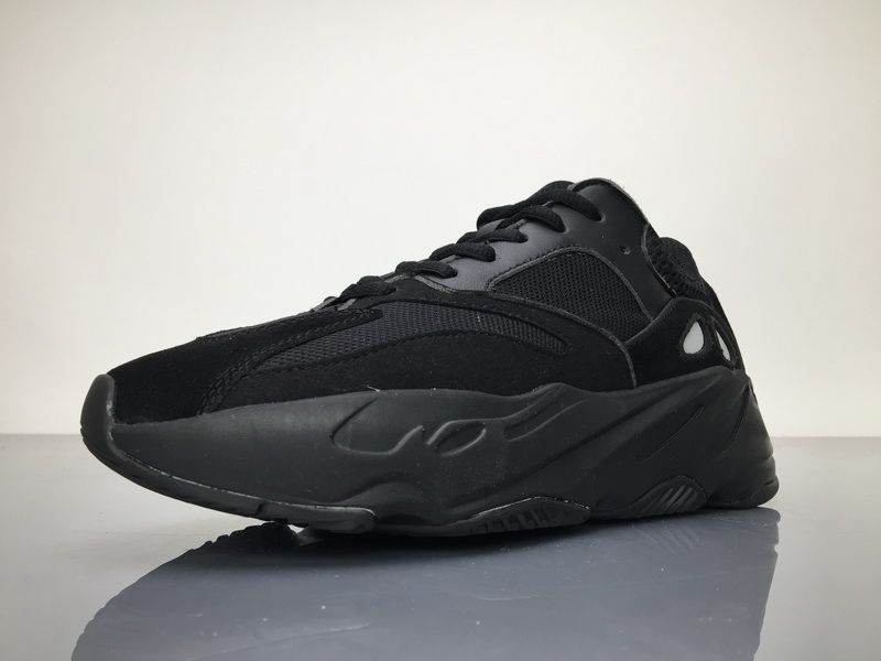 online store 121cf 5b19f Adidas Yeezy Wave Runner 700 B75576 Triple Black Real Boost ...