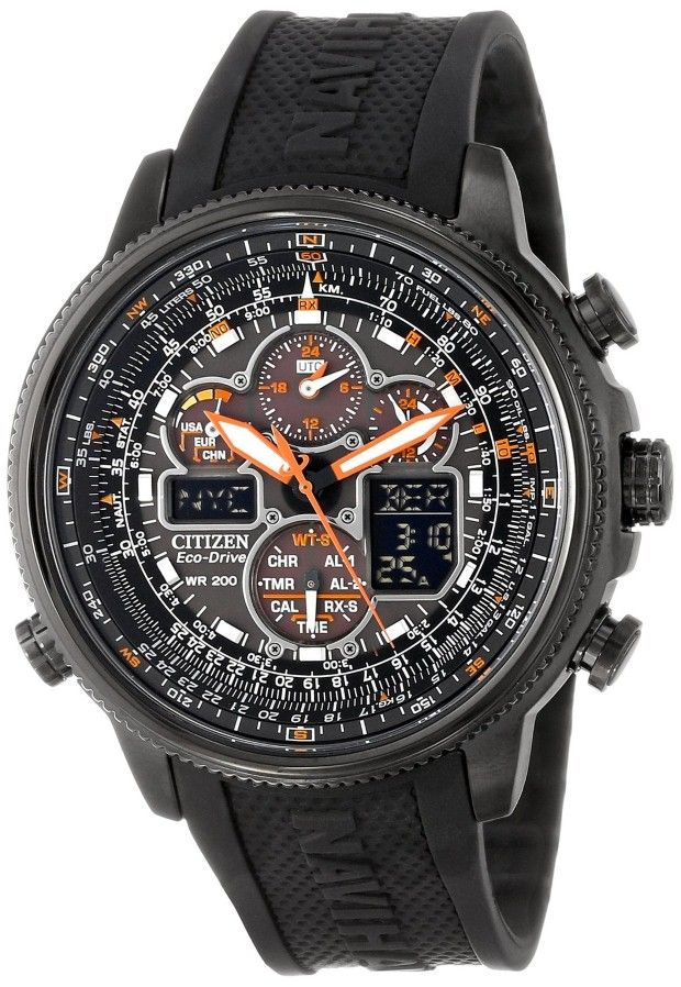 citizen men watches citizen men 39 s jy8035 04e navihawk a t eco drive perpetual chrono strap. Black Bedroom Furniture Sets. Home Design Ideas