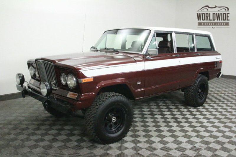 1988 Jeep Grand Wagoneer For Sale Denver Co Oldcaronline Com