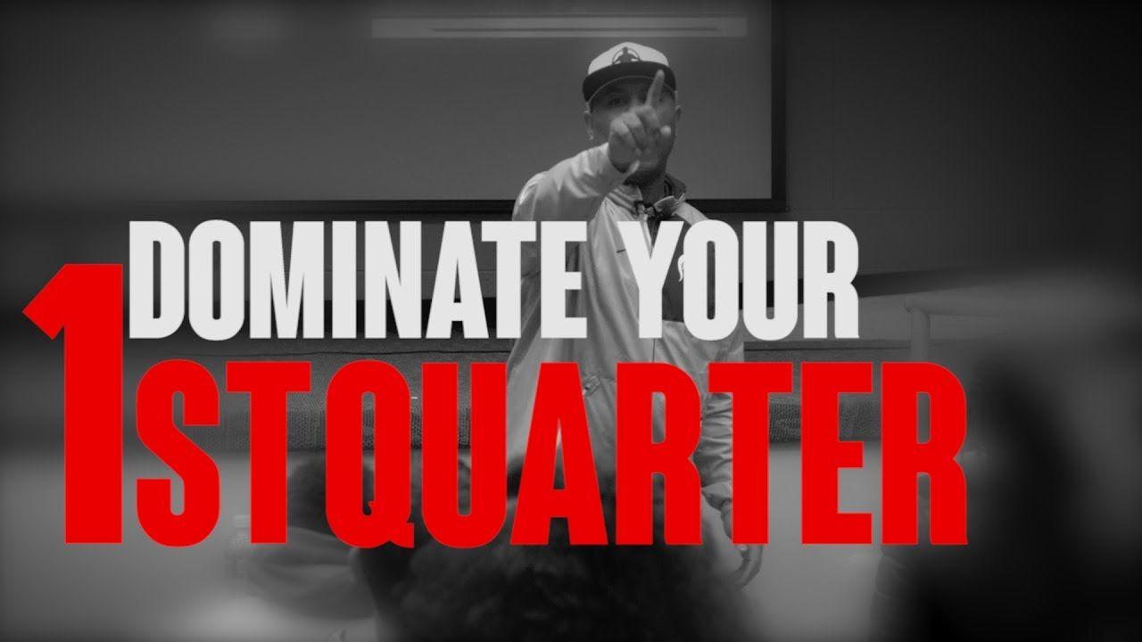 Whoa tgim dominate your first quarter youtube