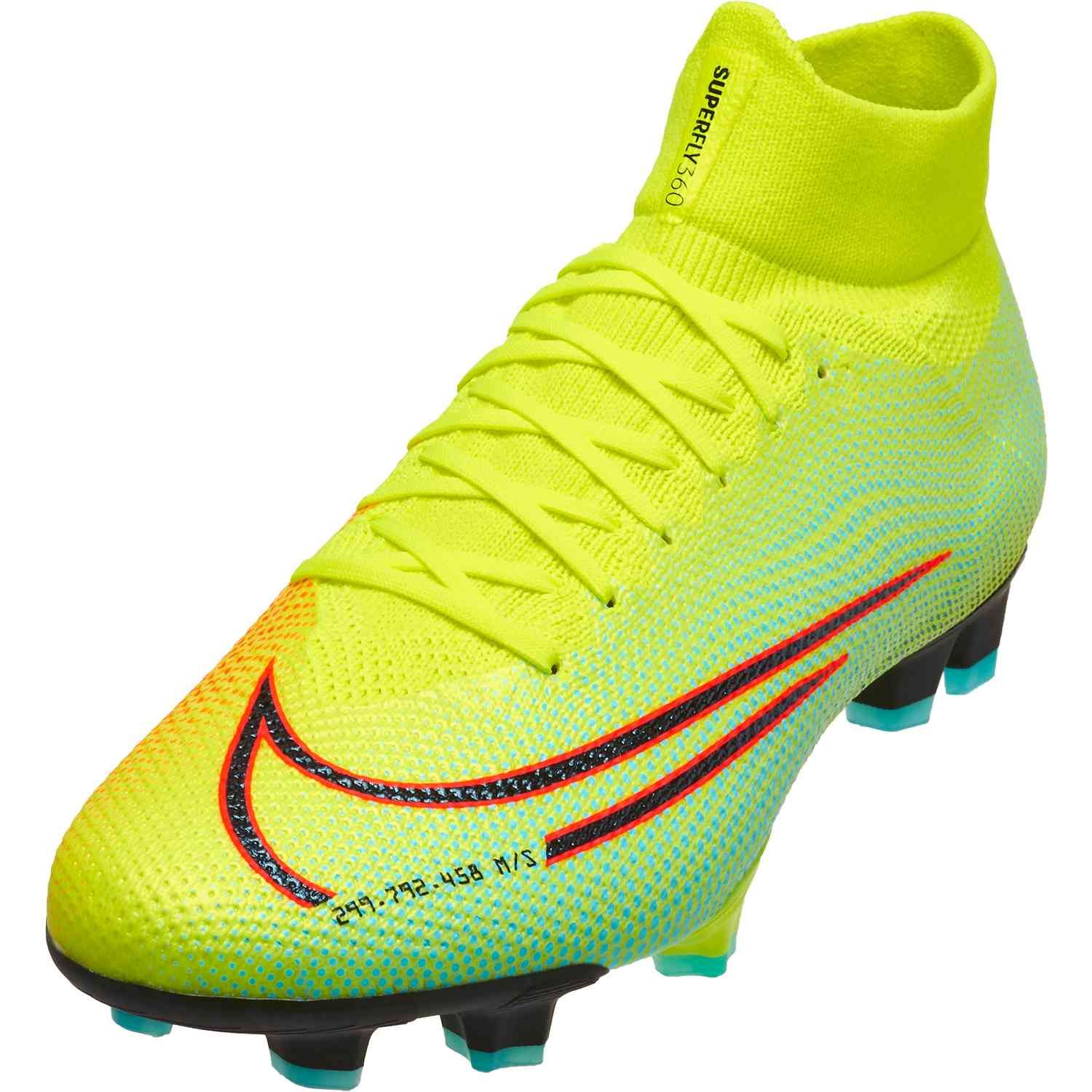 Nike Mds Mercurial Superfly 7 Pro Fg Lemon Venom In 2020 Girls Soccer Cleats Soccer Cleats Soccer Cleats Nike Mercurial