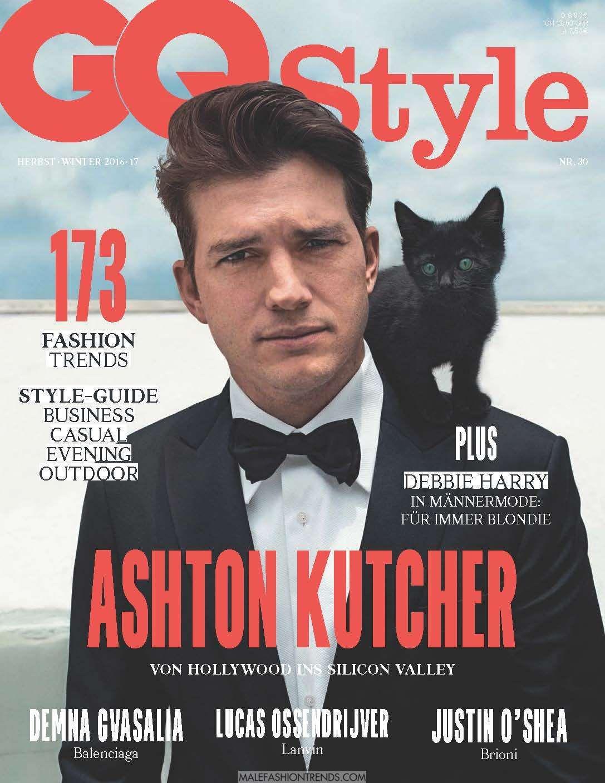Ashton Kutcher para GQ Style Alemania Fall/Winter 2016 | Ashton ...