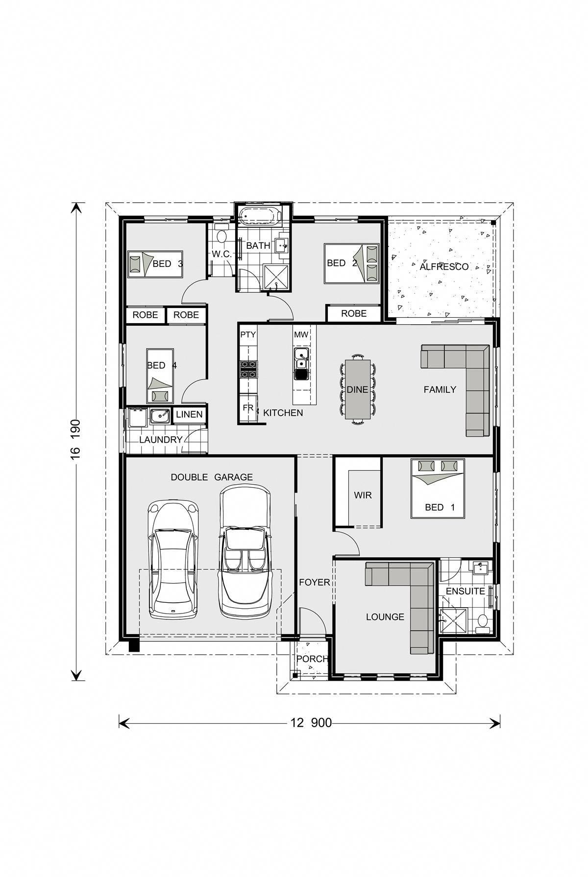 Fernbank home designs in batemans bay   gardner homes modernhomedecorbedroom also rh pinterest
