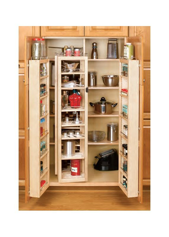 Buy the Rev-A-Shelf 4WP18-57-KIT Natural Direct. Shop for the Rev-A-Shelf 4WP18-57-KIT Natural 4W Series 57 Inch Wide Tall Cabinet Swing Out Shelving Kit and save.