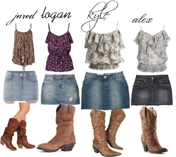 Clothing - Cute! I'd Wear These Outfits In The Summer Even If I Wasn't Going
