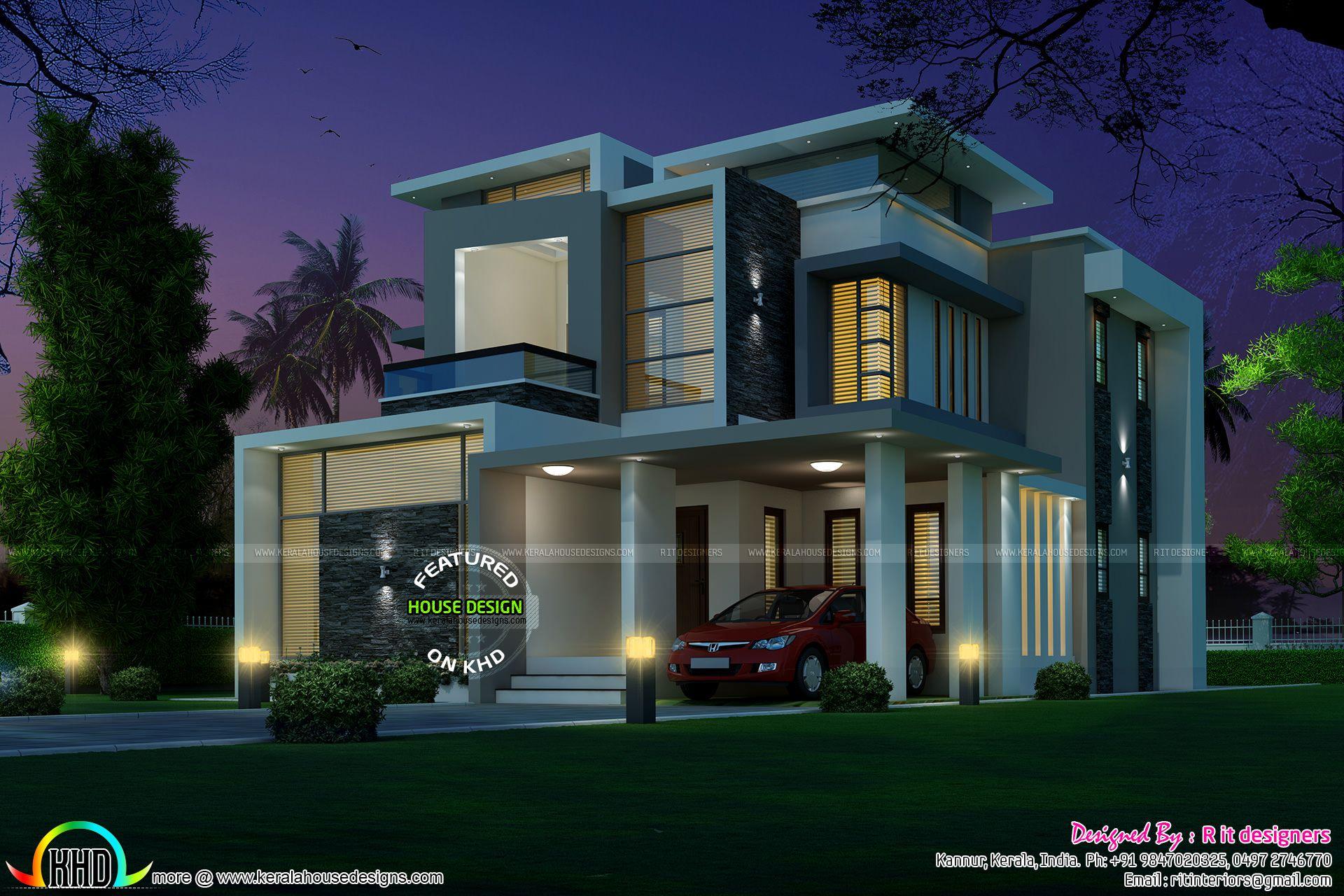 Stunning Home Plan India 1,920×1,280 Pixels