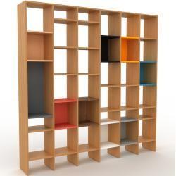 Photo of Lagerwand Eiche, Holz – individuelles Designerregal: Hochwertiges, einzigartiges Design