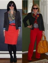 Thoughts for red pants