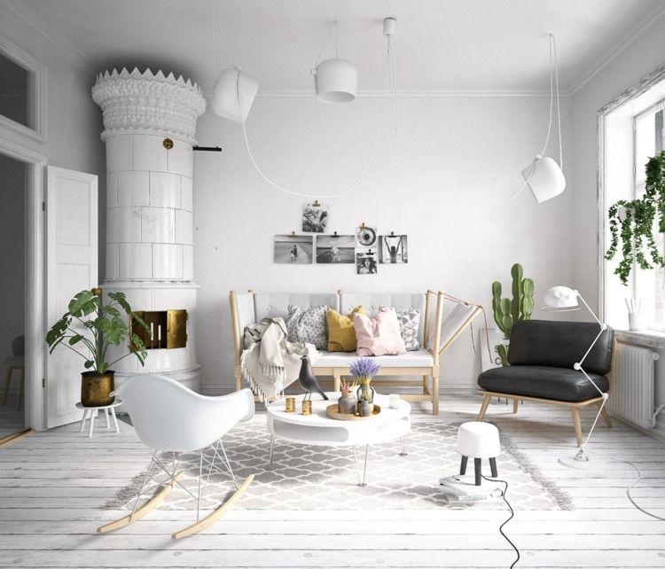 Wohnzimmer Einrichtungsideen Beispiele  Tipps für den trendigen - wohnzimmer modern eingerichtet