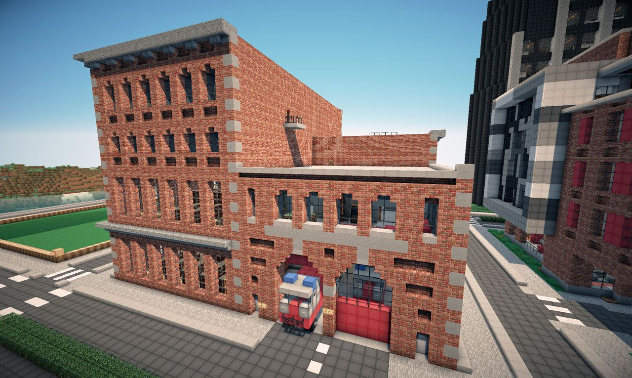 New york brick buildings on world of keralis minecraft for New modern buildings