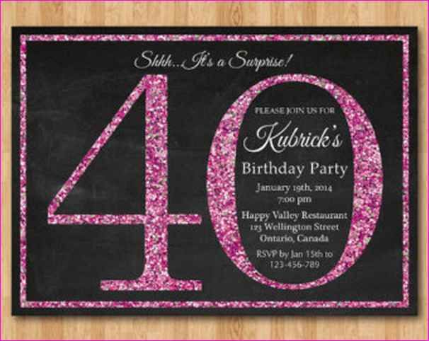 Surprise 40th Birthday Party Ideas For Women