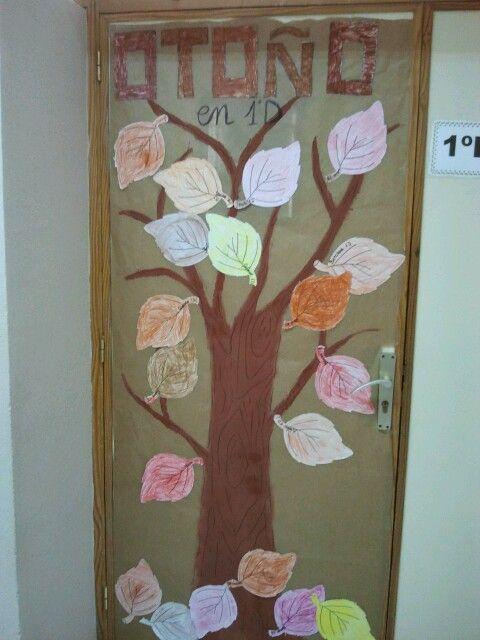 decoraci n puerta de clase oto o decoracion puerta