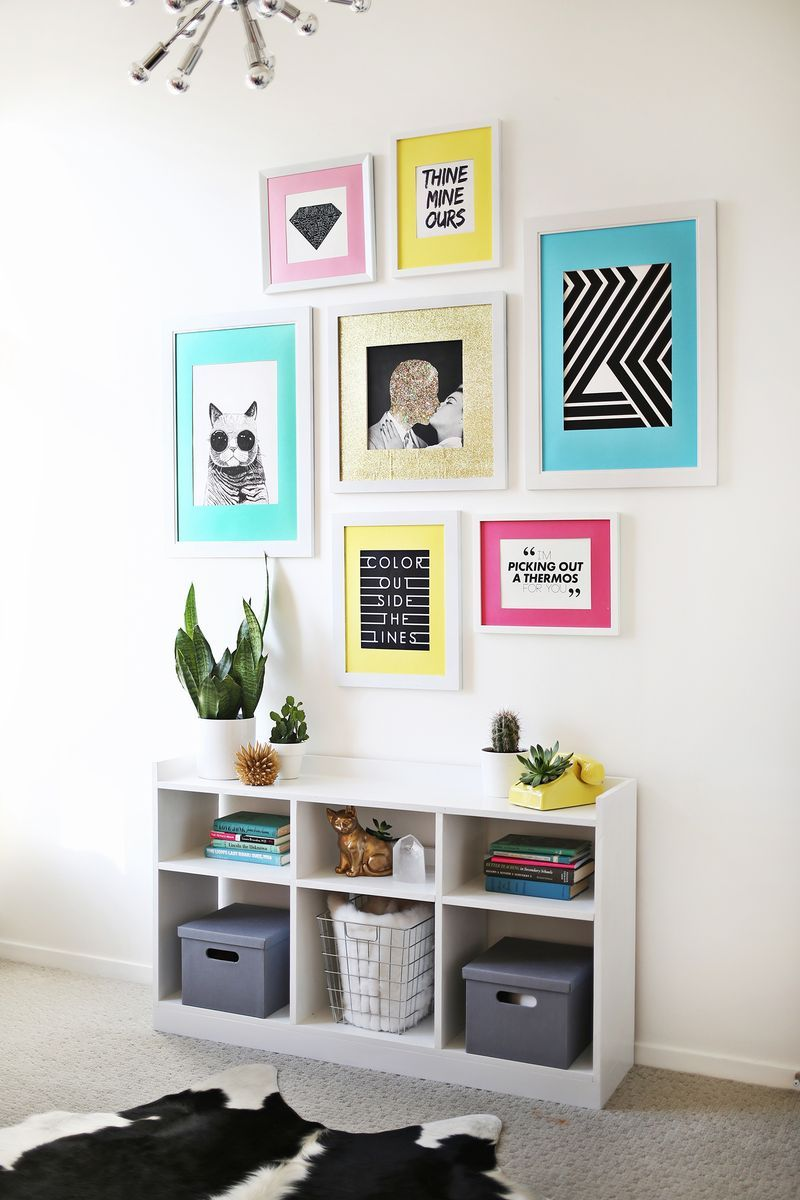 Laura\'s Art Room (Before + After   WALL DECOR   Inspiration ...