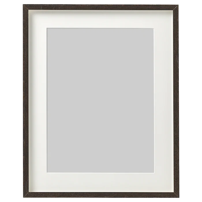 Hovsta Frame Dark Brown 12 X16 In 2020 Frame Frames On Wall Box Frames
