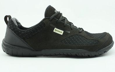 Lems Primal 2 Shoe in black, lightweight, flexible, breathable. Designed for your foots natural shape.
