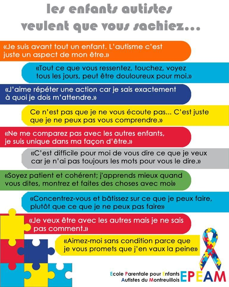 Epingle Sur Autisme