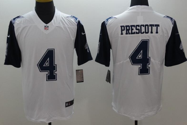 Dallas Cowboys 4  Prescott Color RUSH limited Jersey  970721b92