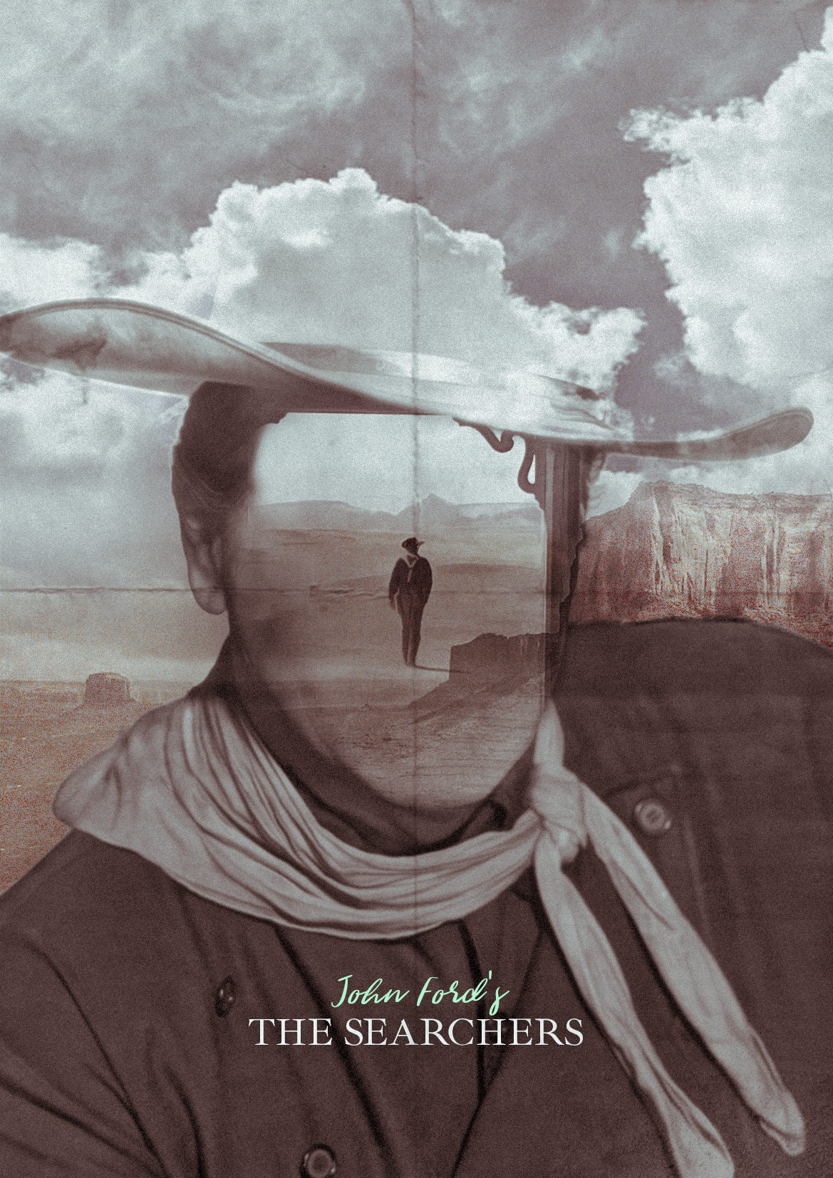 The Searchers (1956) [1169 x 1654] imagens) Cartaz