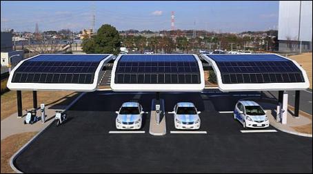 Solar Carport Curved