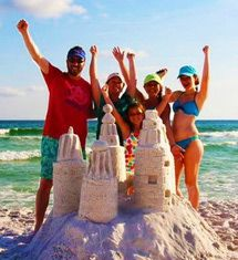 10 Fun Things to Do in Destin with Kids: Get a Power Course in Sandcastle Building