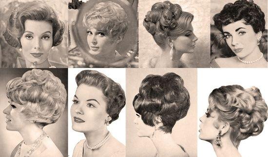 Retro 1950s Hair