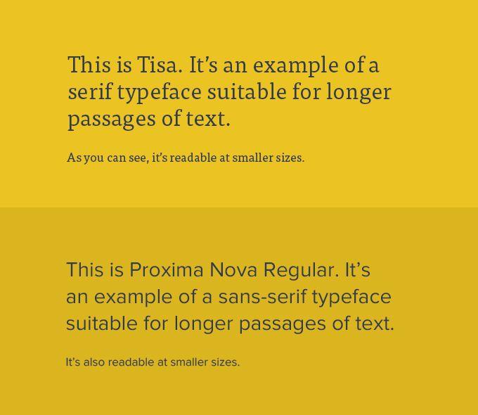 Typographic Readability And Legibility Web Design Web Design Trends Design Trends 2016