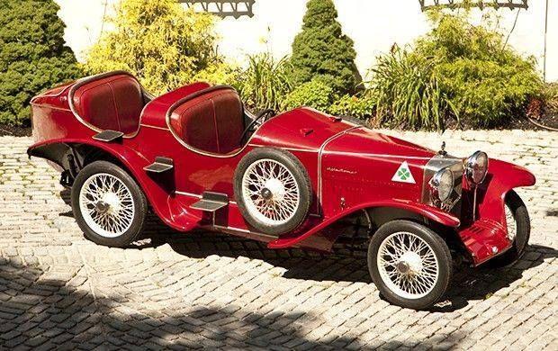 Alfa Romeo RLSS-TF 1924 via Art Nouveau & Art Deco Facebook.