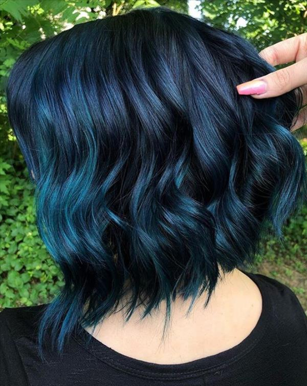 13 Gorgeous Blue Hair Color And Hairstyle Design Ideas Latest Fashion Trends For Woman In 2020 Hair Styles Perfect Hair Color Hair Inspo Color