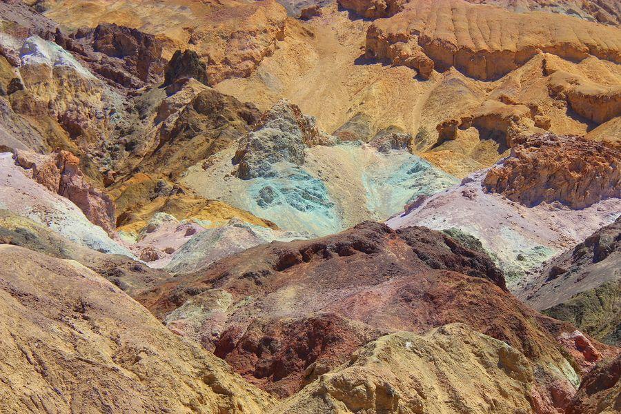 Artists Palette Death Valley Address