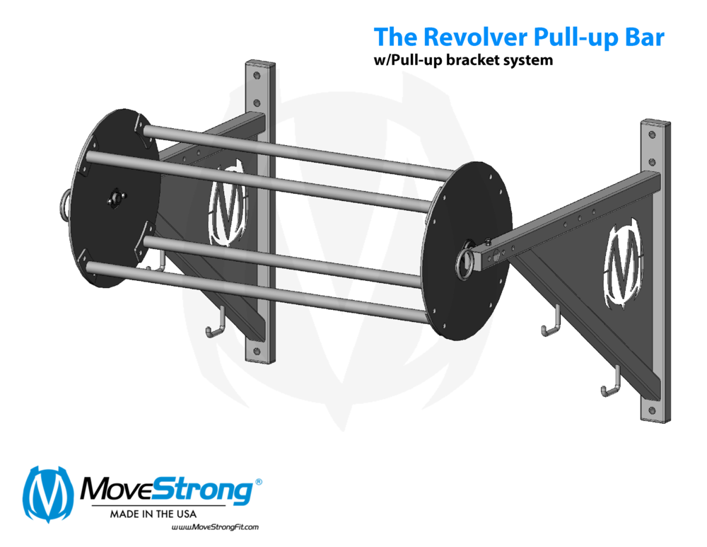 Pull Up Bracket System Options Movestrong Pull Up Bar Pull Ups Up Bar