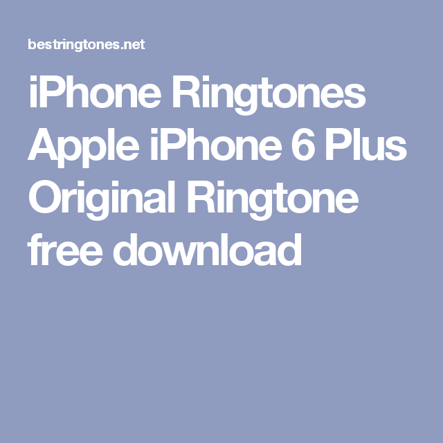 Pillow Talk Ringtone For Iphone