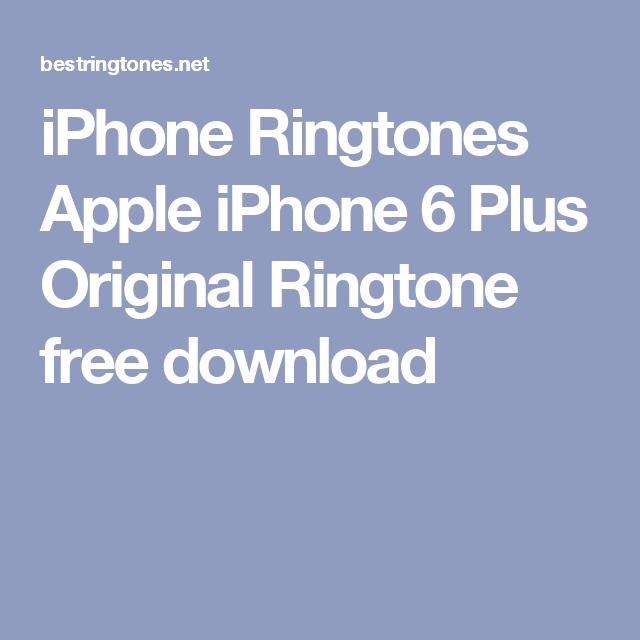 download mp3 ringtone iphone 6 original